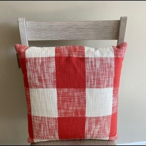 Buffalo plaid pillows